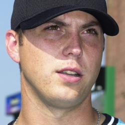 Josh Beckett ... in 2001 with the Sea Dogs