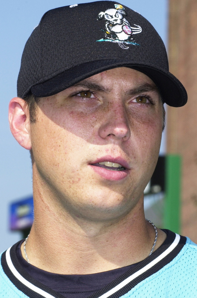 47549d99848 Josh Beckett ... in 2001 with the Sea Dogs