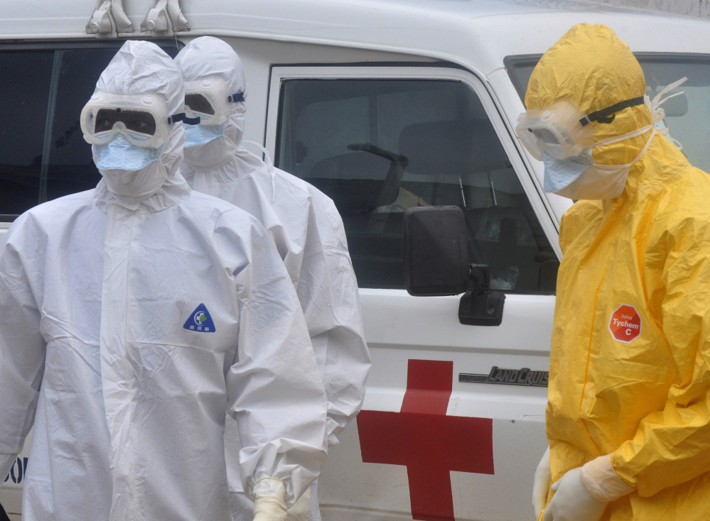 Although some experts say the Ebola virus doesn't spread easily, health-care workers are well advised to go to extremes to protect themselves. The recent illness of a nurse in Texas who treated Thomas Eric Duncan has been blamed on a breach of safety protocol.