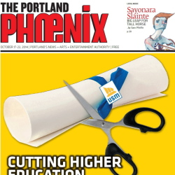 The last remaining Phoenix weekly paper is in Portland.