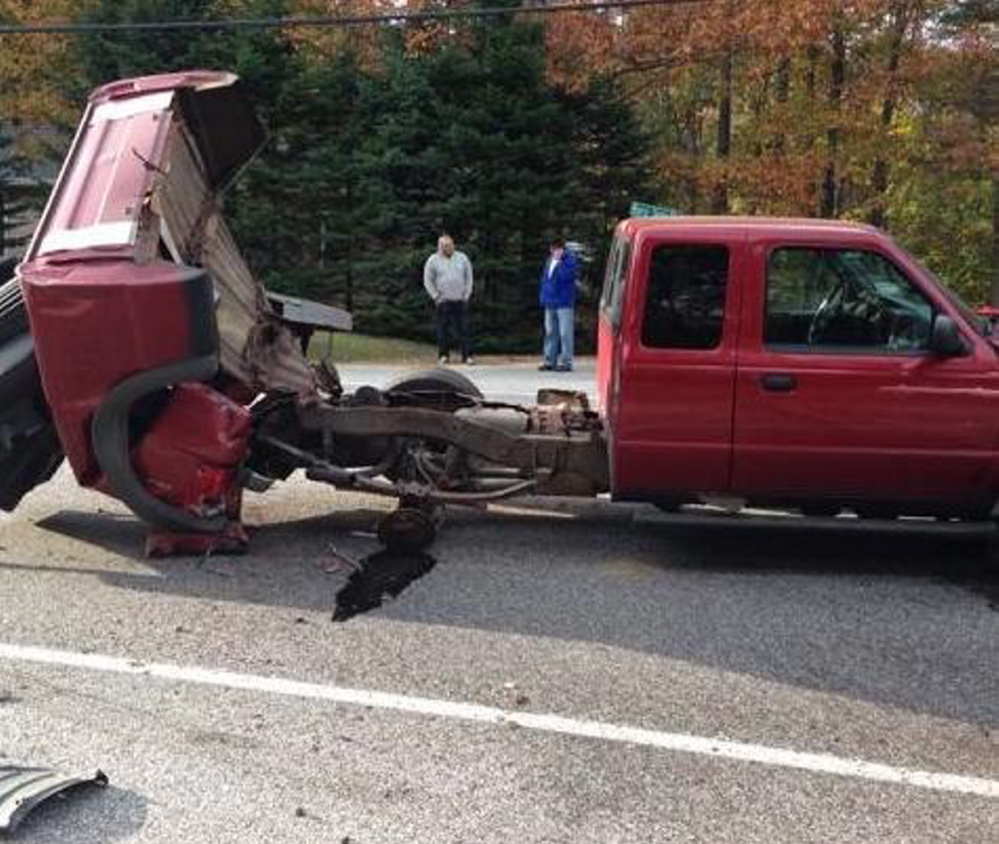 Toyota Maine: Two Passengers Injured In Three-car Crash On Route 302 In