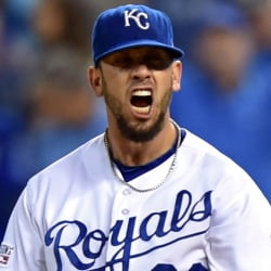 James Shields is slated to start Game 1 of the World Series for the Royals, his first appearance since Oct. 10.