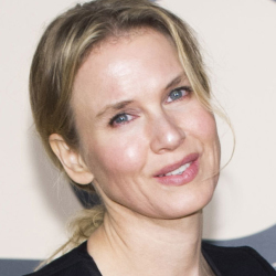 Renee Zellweger says she's glad folks think she looks different today, above, than she did in 2010.