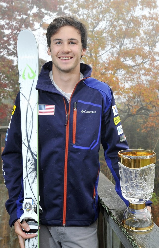 Despite being honored as 2014 World Cup Rookie of the Year, Troy Murphy finds sponsorships few and far between for B team skiers, and has to scramble to foot his bills. Among his methods: auctions that include his pottery.