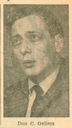 Don Gellers. File photo from an article published by the Press Herald on March 14, 1966.