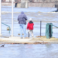 Climate change may increase flooding along the Kennebec River, but addressing the problem also can bring economic opportunities.