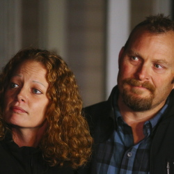 "Kaci Hickox and boyfriend, Ted Wilbur, take questions about Maine's quarantine policy outside Wilbur's home in Fort Kent on Wednesday. ""I remain in good spirits and I'm thankful to be home with my partner Ted,"" she said. ""I went into public health because I believe that good science and compassion can make a difference in peoples' lives. That is exactly why I went to Sierra leone to fight Ebola. It is not my intention to put anyone at risk in this community."""