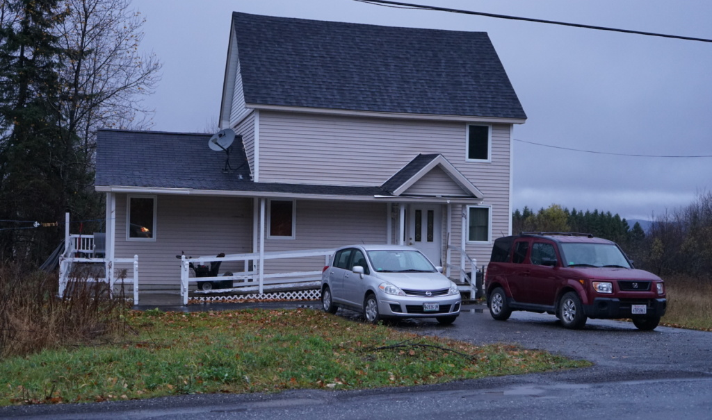 The house of nurse Kaci Hickox who is fighting her quarantine after returning home from ministering to Ebola patients in West Africa.