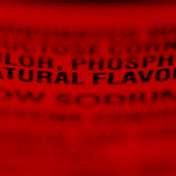 The ingredients label on a bottle of Coca-Cola.