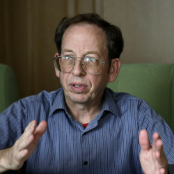 Jeffrey Fowle speaks to the Associated Press in Pyongyang, North Korea. in this Sept. 1, 2014, photo. State Department deputy spokeswoman Marie Harf said the U.S. is still trying to free Americans Matthew Miller and Kenneth Bae. The Associated Press