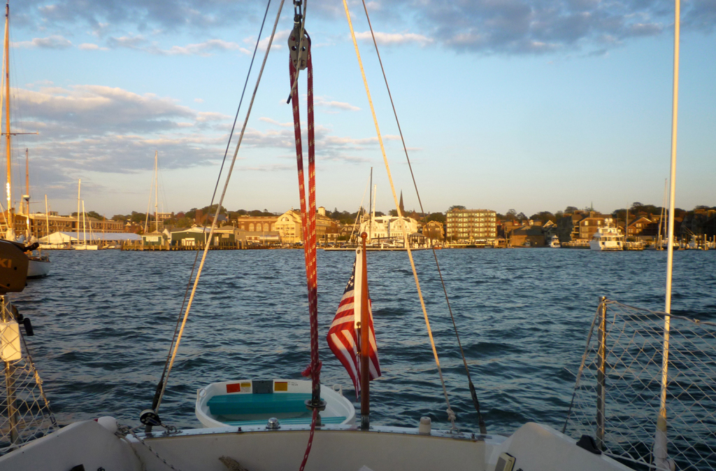 A view of the harbor in Newport, R.I. Sally Gardiner-Smith photo
