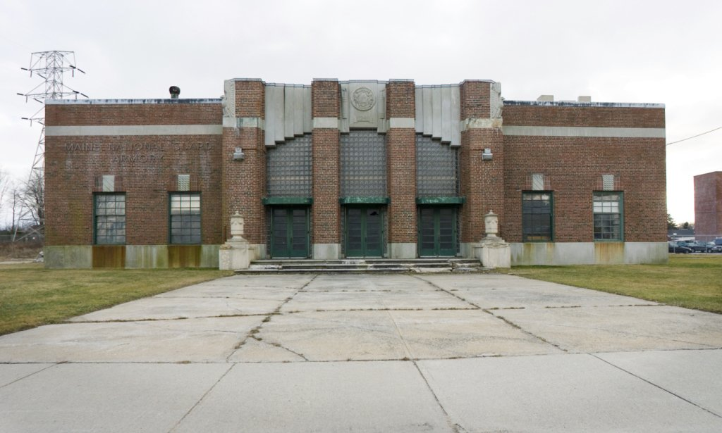South Portland officials have negotiated a purchase-and-sale agreement with a Topsham development company for the city's vacant armory building.