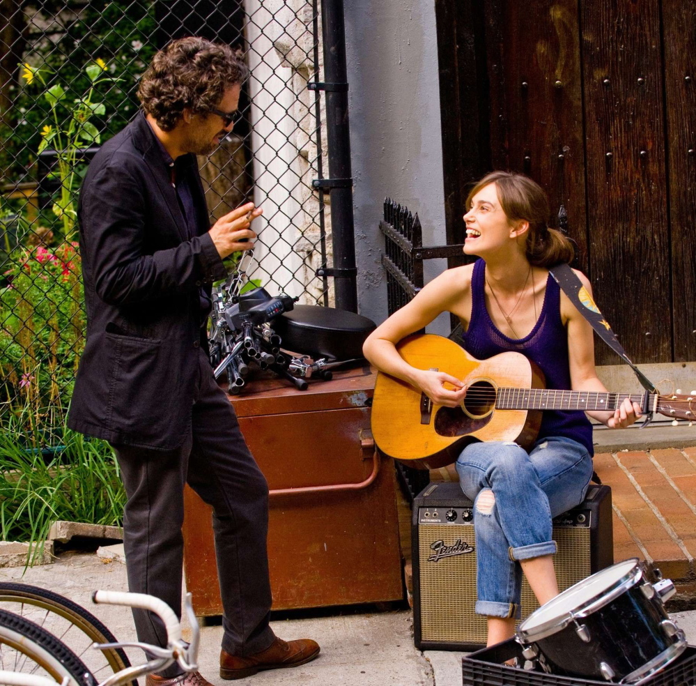 "Mark Ruffalo and Keira Knightley in ""Begin Again."""