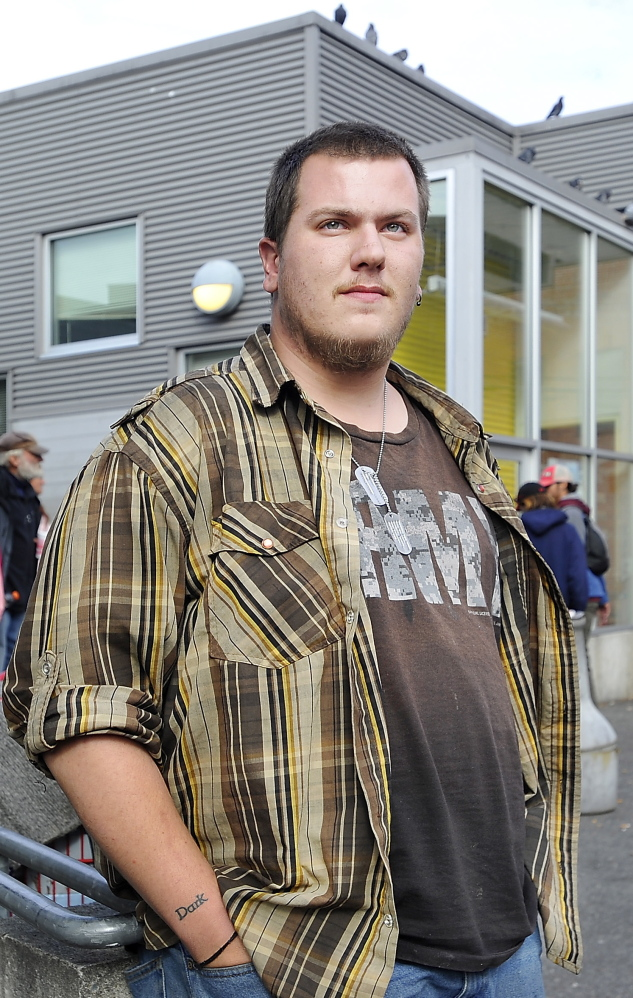 Travis Durr is just one of the many homeless people who depend on the Preble Street Resource Center.