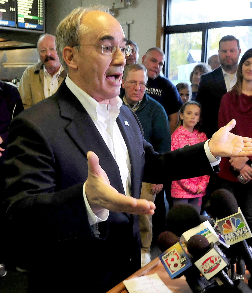 Bruce Poliquin's partisanship is well known, but he has reached out to some liberal interests.