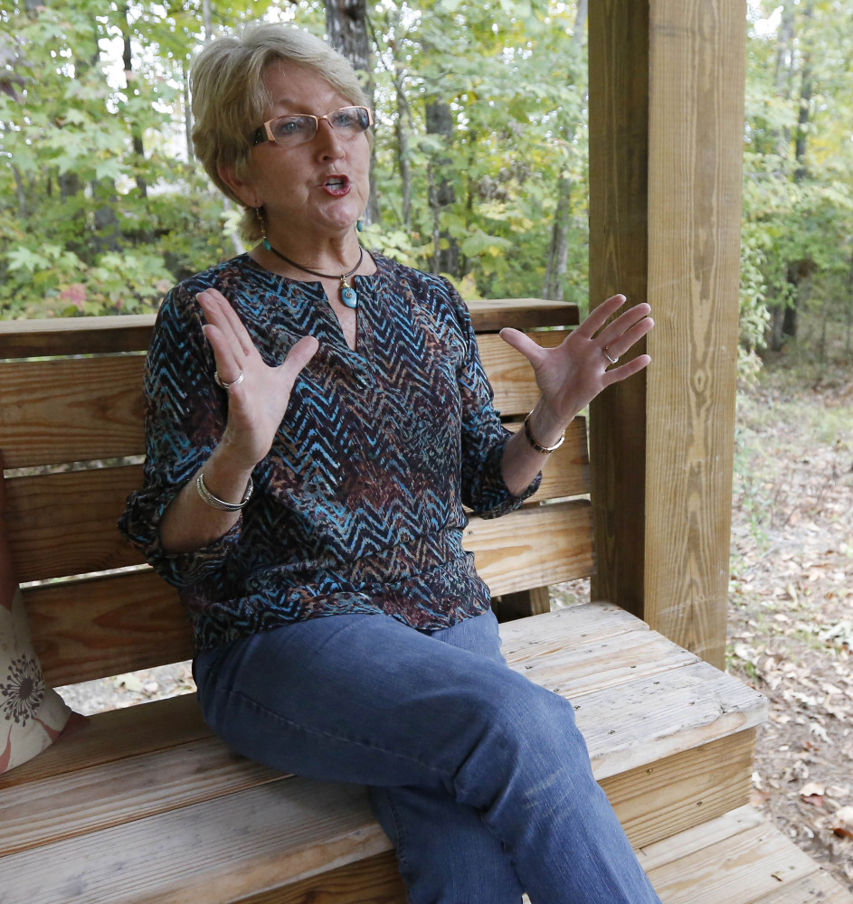 Mary Jane Kennedy of Brandon, Miss., is a mother of two gay sons and believes that God loves them like everyone else. She's led Bible studies in her native Mississippi for decades.