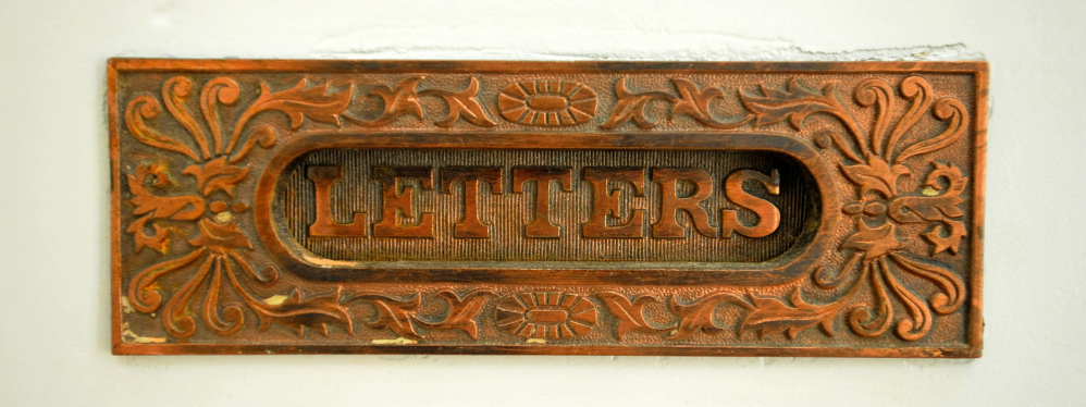 Original details like this mail slot remain in place.