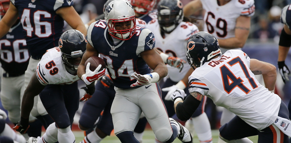 Patriots running back Shane Vereen has already proven he's a dangerous receiver out of the backfield, but now he's being asked to play a bigger role in the running game after Stevan Ridley's season-ending knee injury.