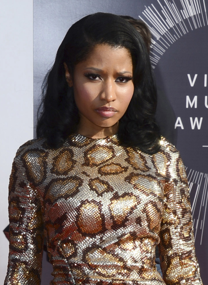 Nicki Minaj says she's sorry if the Nazi imagery in her video offended anyone.