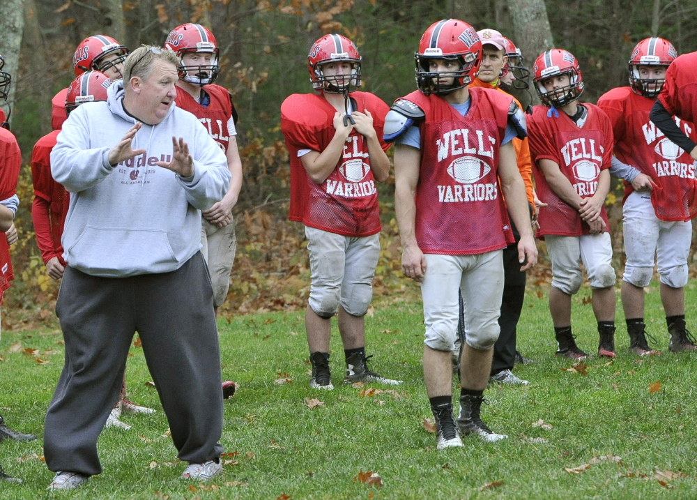 Wells Coach Tim Roche had to make adjustments during the season as a young defense slowly became a force in Western Class C. Now the adjustments are complete and the Warriors, after upsetting Spruce Mountain, will be in the regional final Saturday at Leavitt.