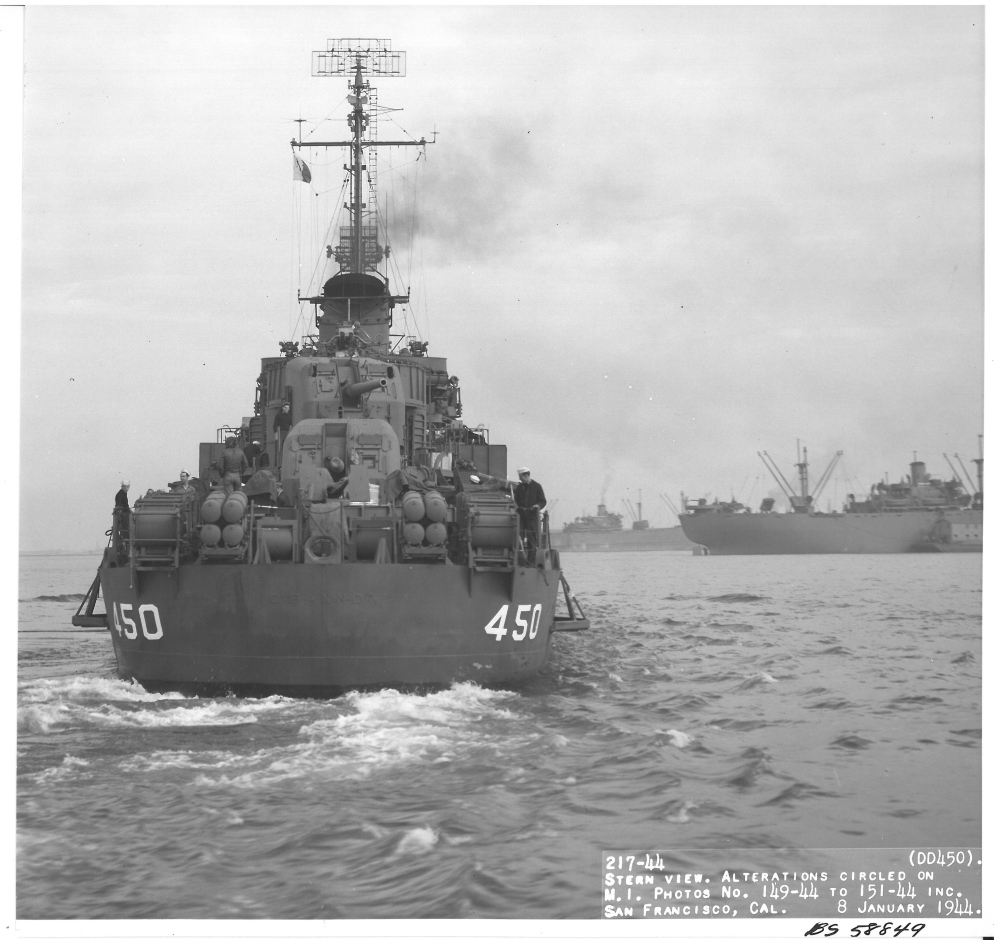 The USS O'Bannon was the ship Lendall Knight, 95, served on during World War II.  Knight was a lieutenant in the Navy when he fought in the Naval Battle of Guadalcanal in 1942.