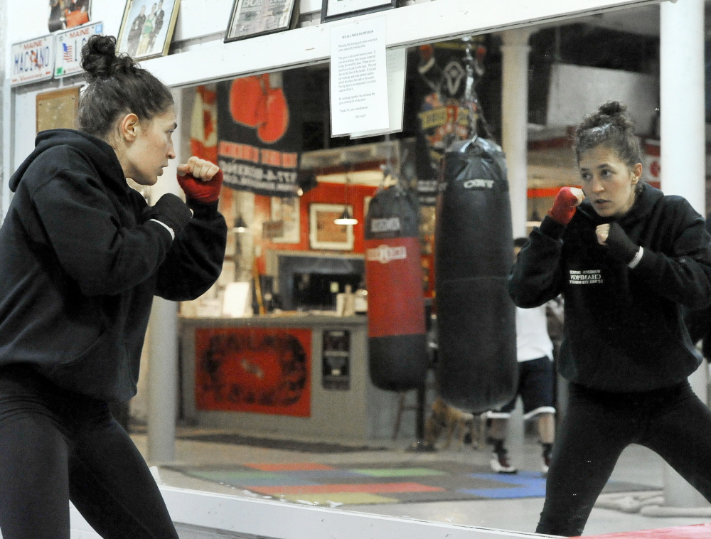 Lindsay Kyajohnian proved to her father that, yes, she could become a fighter and, yes, she could place it in perspective. Now when she enters the ring, he's her biggest fan.