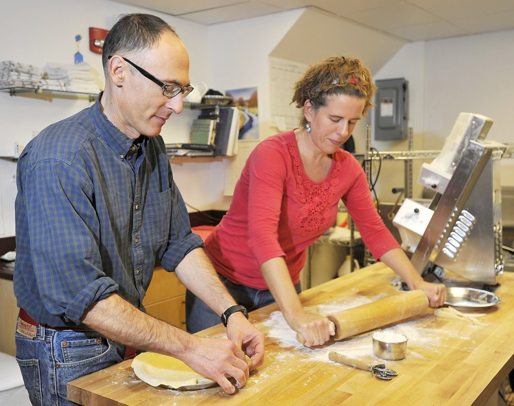 Just eight months into their Friday Pie Club, Charles Fischman and Meghan Fennell are baking and delivering up to 600 turnovers and 12 to 15 pies weekly.