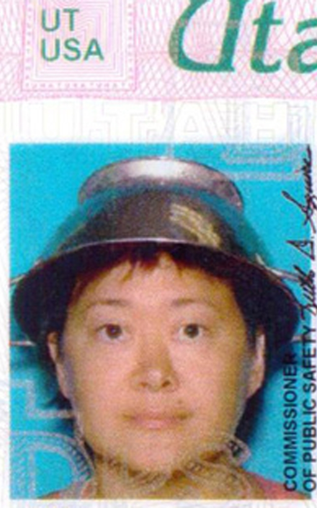 Asia Lemmon's license photo