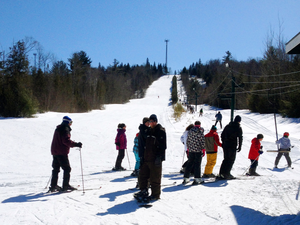 Ski areas like Mount Jefferson, in Lee, are home to a number of small, club- and family-run areas in Maine where lift tickets can be had for $20 or less. Frugal skiers will also like the inexpensive extras available at some ski areas – like 25-cent coffee and $1 grilled cheese sandwiches. Not to mention the throwback ambience of wood stoves and rope tows.