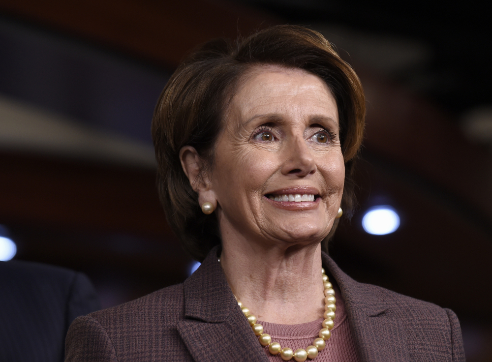 House Minority Leader Nancy Pelosi of Calif. calls on Democrats to work on initiatives that reduce income disparity.