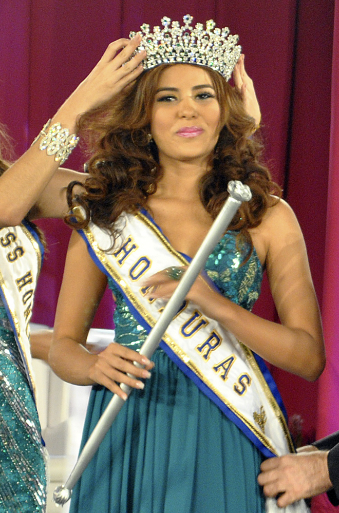 Miss Honduras Maria Jose Alvarado was set to compete in the Miss World Pageant.