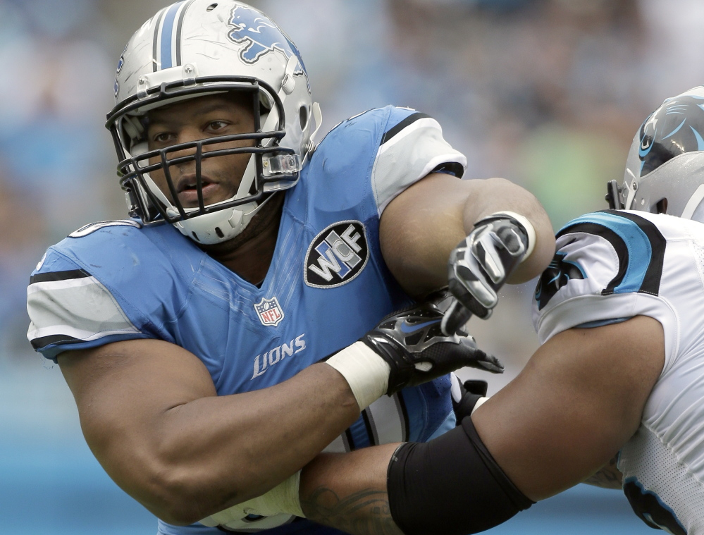 Ndamukong Suh is a pivotal member of a Detroit Lions defense that's been stifling opponents, ranked first in the league.
