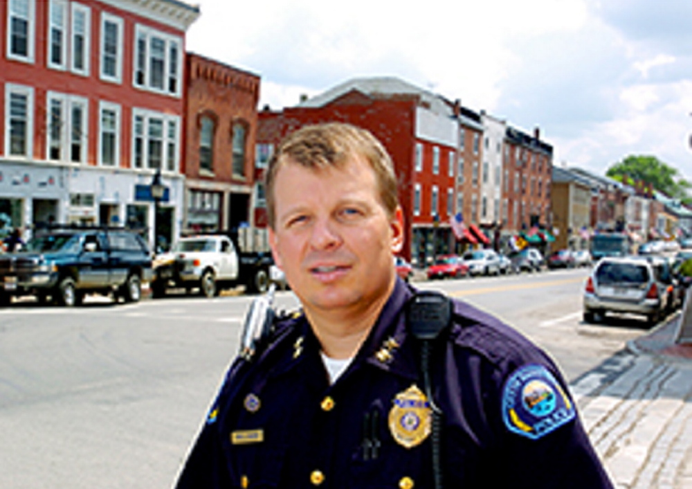 Hallowell's city manager says he will reappoint Police Chief Eric Nason despite reprimands. Councilors, who have to vote on the chief's nomination, are mostly hesitant to comment.