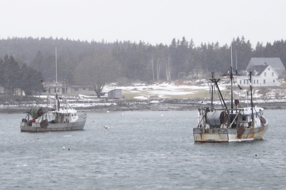 The shrimp boats of local fishermen didn't get much use last year, and won't this year now that shrimp harvesting has been curtailed by regulators.