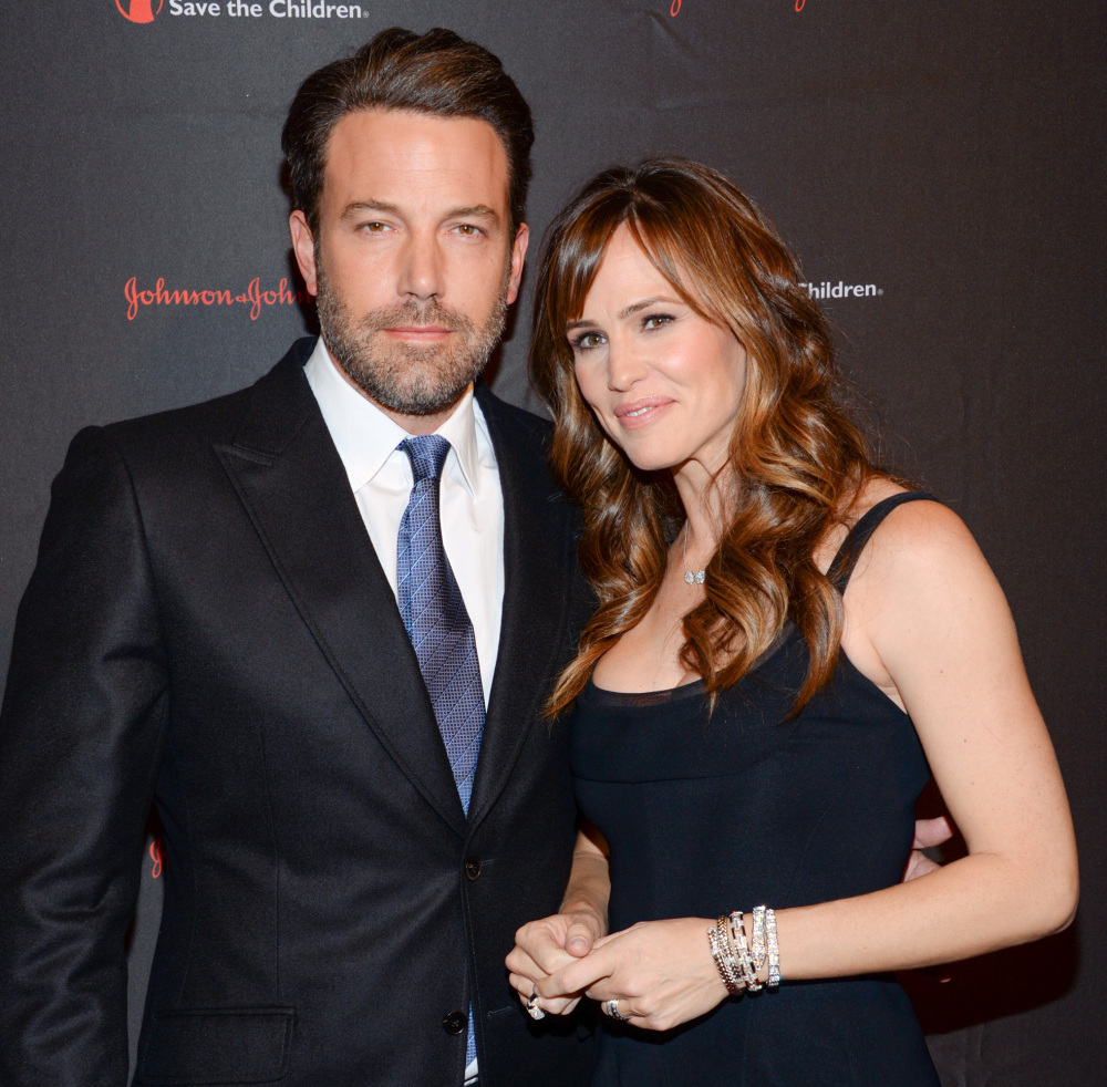 Actor, filmmaker and Eastern Congo Initiative founder Ben Affleck and his wife, actress Jennifer Garner, attend the 2nd Annual Save the Children Illumination Gala at the Plaza Hotel in New York on Wednesday. The Associated Press