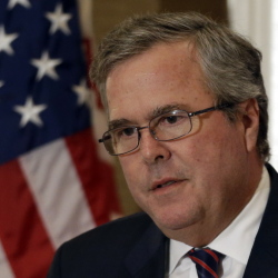 Former Florida Gov. Jeb Bush on Thursday preached a conservative message of limited government, saying states and local communities should have the flexibility to design their own education programs with federal dollars.