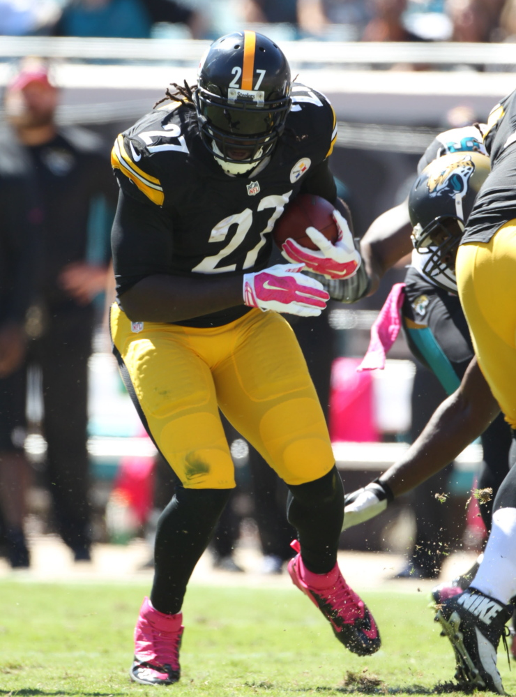 LeGarrette Blount signed a two-year, $3.85 million deal with Pittsburgh, but had lost playing time in the backfield.