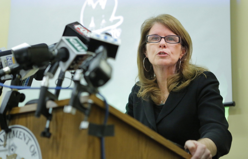 "In a prepared statement Friday, Maine DHHS Commissioner Mary Mayhew said, ""Federal bureaucrats are out of touch with the wishes of Mainers who are crying out for integrity in our welfare system."""
