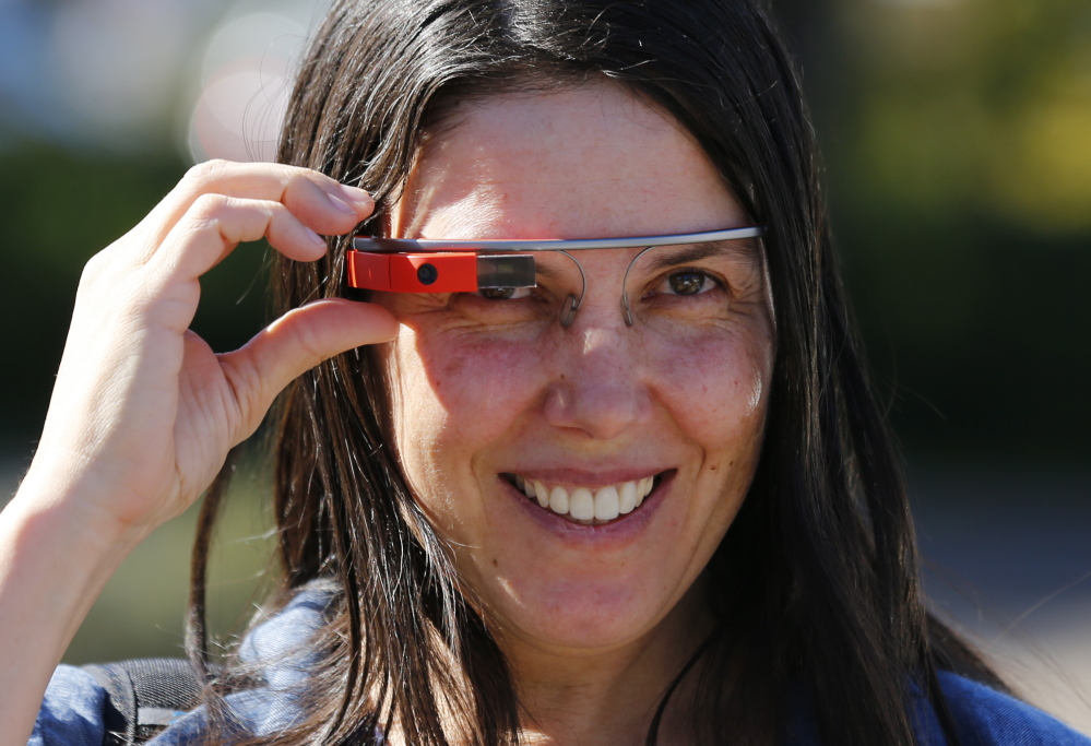 Cecilia Abadie was ticketed for driving while wearing Google Glass.