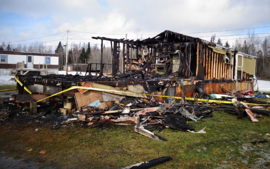 The state Fire Marshal's Office has determined that a 3-year-old boy started the fire that killed him, his mother and twin siblings in Caribou on Thursday.