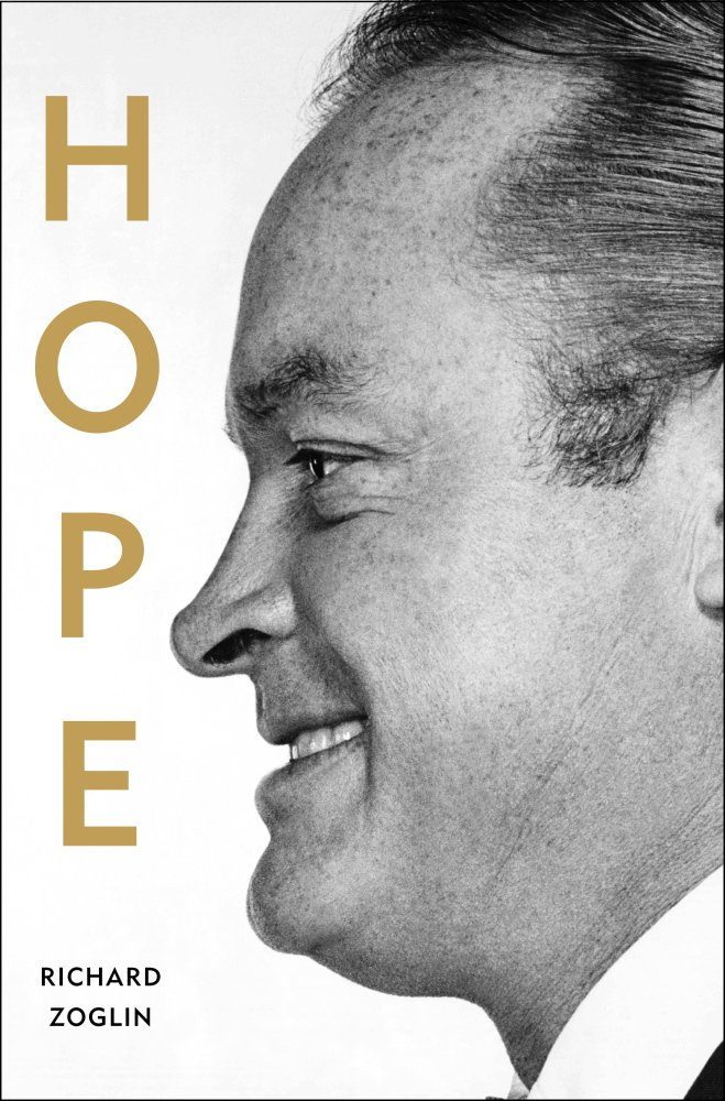 """This cover image released by Simon & Schuster shows """"Hope: Entertainer of the Century,"""" a biography of Bob Hope, by Richard Zoglin. (AP Photo/Simon & Schuster)"""