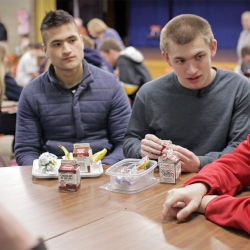 Students don't have to be ostracized just because they are in special ed. A new sports program aims to build the kind of community that these Old Orchard Beach High School students have discovered.