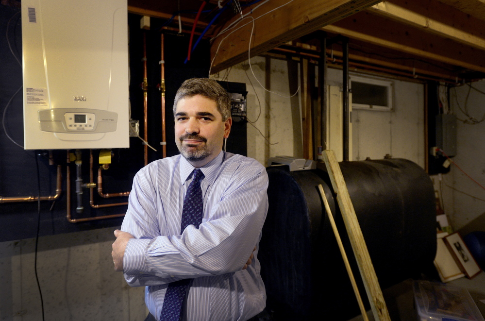 David Goldman has hired another company to install a natural gas furnace in the basement of his Cumberland home after Dave Ireland Builders never showed up to do the work. Goldman, an attorney, has filed a lawsuit to try to get his deposit back.