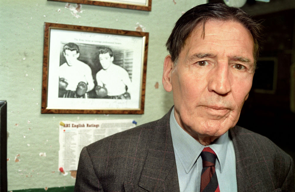 """Mad"" Frankie Fraser was a symbol of a mythical time when British criminals supposedly only targeted each other and were kind to their sweet old mums."