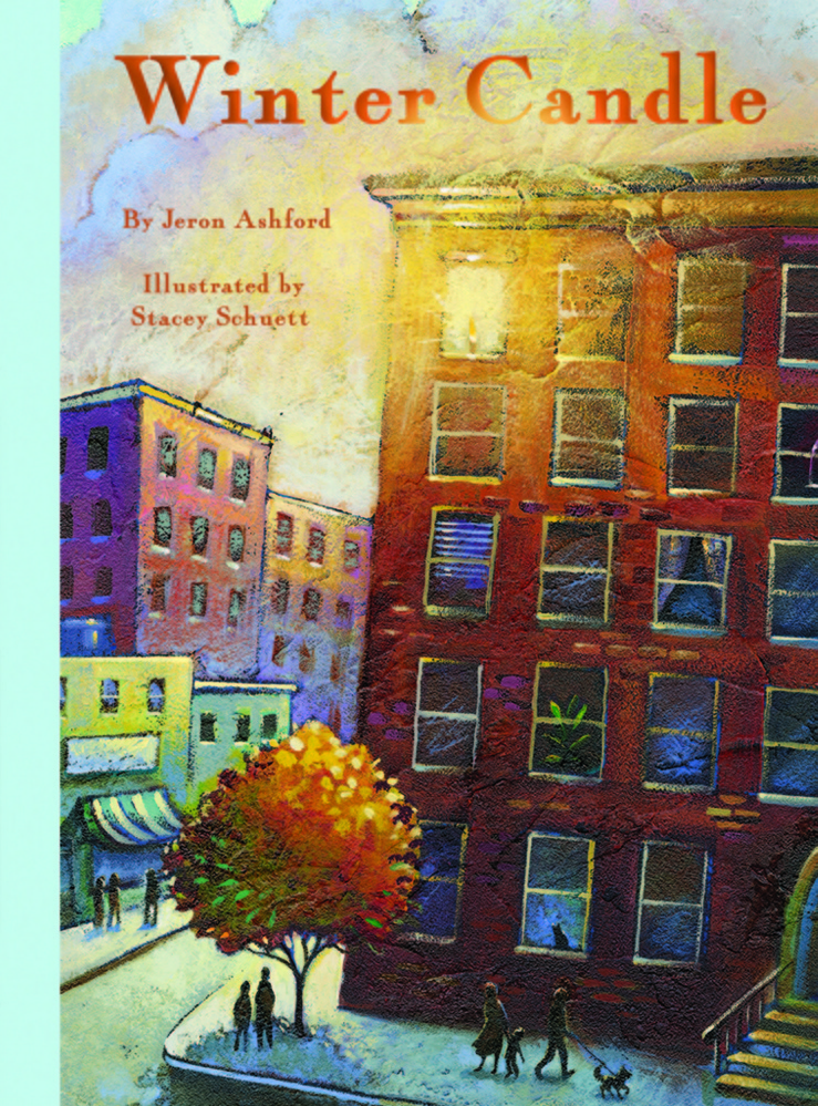 """""""Winter Candle"""" by Jeron Ashford, illustrated by Stacey Schuett   Creston Books. Hardcover, picture book. 32 pages. $16.95."""