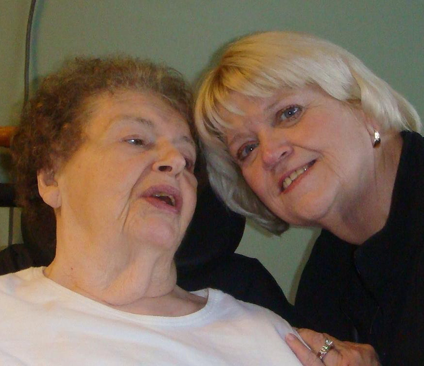 Barbara Gill, shown with her daughter Jo Gill Richards, was a champion of health care and education.