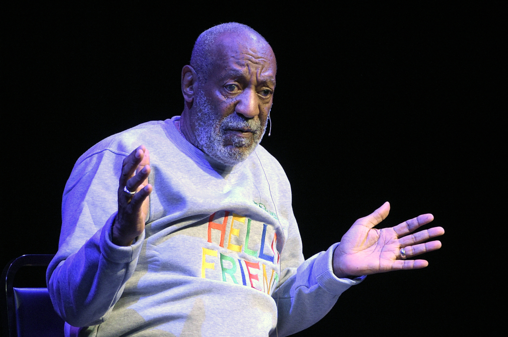 Bill Cosby performs at the Maxwell C. King Center for the Performing Arts in Melbourne, Fla., on Friday night. Performances by Cosby in Nevada, Illinois, Arizona, South Carolina and Washington state have been canceled as more women come forward accusing the entertainer of sexually assaulting them years ago.