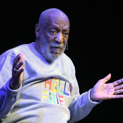 Bill Cosby performs at the Maxwell C. King Center for the Performing Arts in Melbourne, Fla., on Friday night. Performances by Cosby in Nevada, Illinois, Arizona, South Carolina and Washington state have been canceled as more women c
