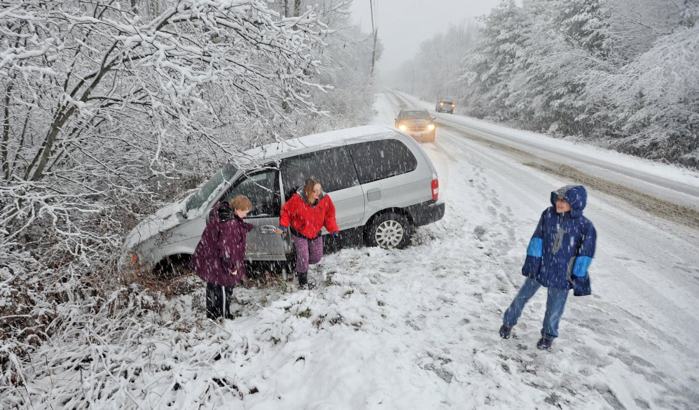 Weather Portland Maine : Wintry mix indeed we ve had it all press herald