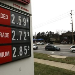The pain being felt by energy producers is proving to be a big gain for consumers and businesses that are heavily reliant on energy. The cheapest gas in half a decade is giving consumers a holiday treat in Lawrence, Kan. The Associated Press